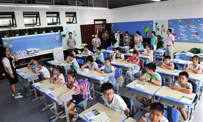 杭州千岛湖建兰中学学生