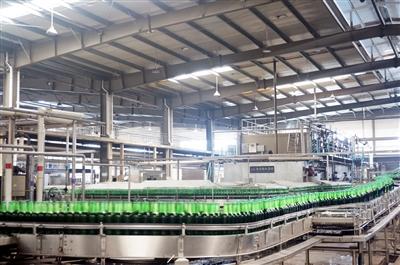 千岛湖啤酒生产线