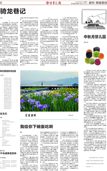 今日千岛湖数字报刊平台-骑龙巷记