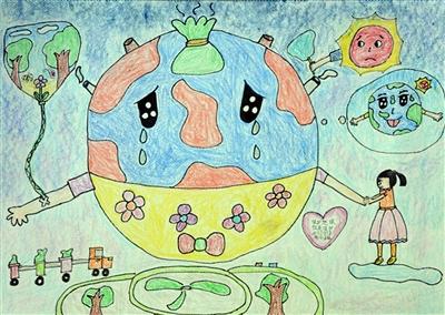 余芷慧 《保护地球就是保护我们的家园》  千岛湖镇南山学校三年级